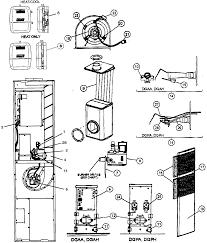 coleman furnace parts model dgaa070bdta sears partsdirect find part by diagram >