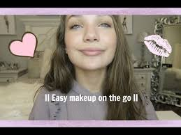 quick and easy makeup on the go mad ziegler