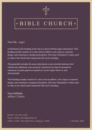 Maybe you would like to learn more about one of these? Purple Church Letterhead Template Postermywall