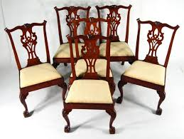 antique dining chairs nyc. set of 6 american chippendale carved mahogany dining chairs, new york, 1770-1790. sold for $38,400. no. 866849 antique chairs nyc