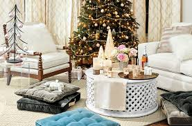 host a holiday gathering picnic style around your coffee table