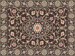 arabic style carpet design stock vector - 11674191 YTGDSMI