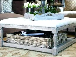 wicker coffee table with storage side table with wicker baskets coffee tables with storage baskets coffee table with wicker storage baskets wicker storage