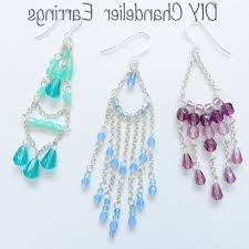 beaded cute chandelier earrings beginners guide to diy chandelier earrings