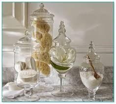 Apothecary Jar Decorating Ideas Apothecary Jars Bathroom Home Design Ideas and Pictures 47