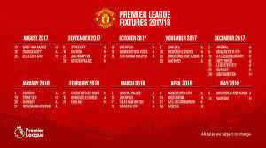 0%0% found this document useful, mark this document as. Manchester United On Twitter In Full Our Premierleague Fixtures For 2017 18