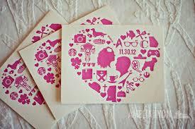 Classic Wedding Invitations Valentines Day Wedding