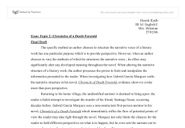 chronicles of a death foretold international baccalaureate world  document image preview