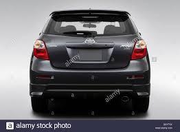 2009 Toyota Corolla Matrix XRS in Gray - Low/Wide Rear Stock Photo ...
