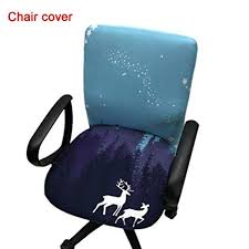 office armchair covers. Office Computer Chair Covers Printed Stretch Task Cover Slipcover For  Rotating Armchair Office Armchair Covers