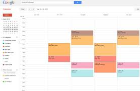 calender tools top 3 time management mba tools the crosby mba blog