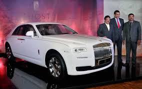 new car launches in keralaRollsRoyce launches Ghost series in Kerala  Metrovaartha