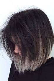 Pin by AnnMarie Harper on pelo | Short ombre hair, Grey ombre hair, Short  hair color