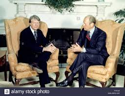 jimmy carter oval office. United States President Gerald R. Ford, Right, Meets U.S. Elect Jimmy Carter, Left, In The Oval Office Of White House Washington, Carter O