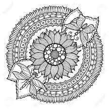 25 Het Beste Mandala Kleurplaten Bloemen Mandala Kleurplaat Voor