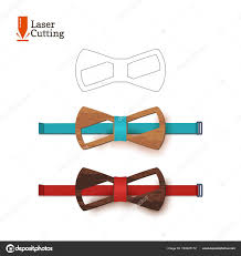 Vector Bow Tie Template Laser Cut Bow Tie Template For