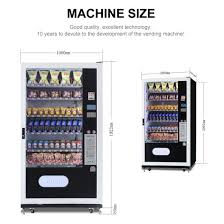Vending Machine Size Extraordinary China For Malaysia SnackDrinks Combo Vending Machine LV48L48A
