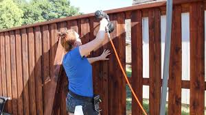 building a board on board cedar fence