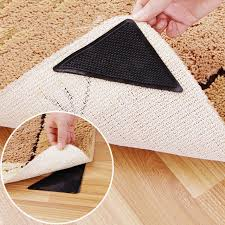 8 pcs rug carpet mat grippers non slip anti skid reusable silicone grip pads mg for