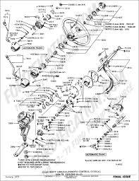 Gear shift linkage remote control typical 1964 1972 f100 f250 4x2