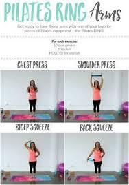 pilates ring arm workout