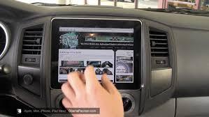 first ipad car dash mod icar