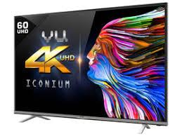tv 60 4k. vu t60d1680 60 inch 4k (ultra hd) smart led price in india tv 4k