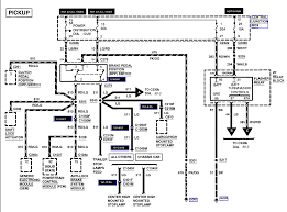the wiring diagram for ford f flasher