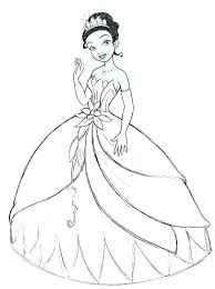 tiana coloring pages colouring pages princess and the frog coloring stock book to print line princess