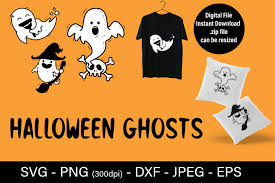 Learn more about the best free animation and rigging: Halloween Ghost Svg Ghost Faces Graphic By Admaioradesign Creative Fabrica
