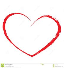 Dessin De Coeur Illustration De Vecteur Image Du Ligne 32349465 Dessin De Coeur Rouge L