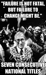 John Wooden memes | quickmeme via Relatably.com
