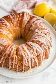 Glazed Lemon Monkey Bread {VIDEO} - The Recipe Rebel