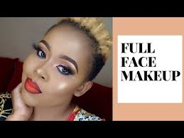 how to do a full face makeup tutorial