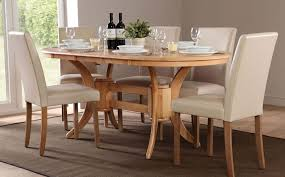 excellent ideas oval dining table set for 6