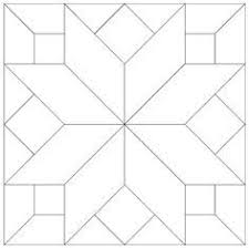 Quilt Square Patterns Simple Free Printable Quilt Pattern Template Imaginesque Free Quilt Block