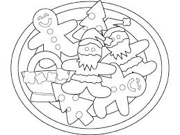 Gingerbread Man Coloring Pages Cookies Gingerbread Man Coloring