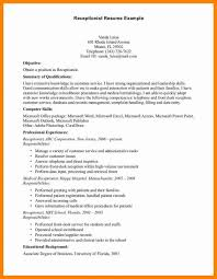 Front Desk Medical Receptionist Sample Resume Amazing Receptionist Resume Fastweb Front Desk Medical Sample