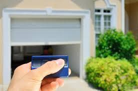 small garage door opener remote