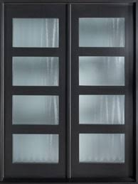 Perfect Modern Front Double Door Mahogany Wood Veneer Euro Technology With Inspiration Decorating