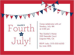 My Favorite July 4th Invitations 4th Of July 1st Birthday
