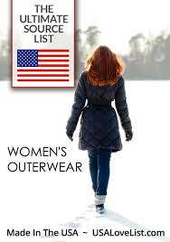 ameican made women s outerwear coats leather jackets peacoats ski jackets all made