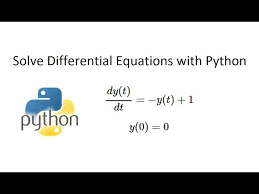 solve diffeial equations in python