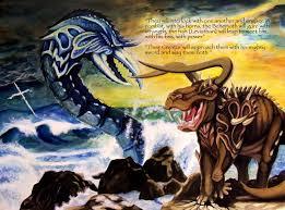 Resultado de imagem para leviatã bíblia jó