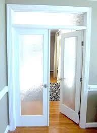 interior doors with glass panels 5 panel frosted glass interior door 5 panel glass door home