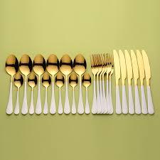 Lingeafey <b>столовые</b> приборы из белого золота 24 шт. <b>набор</b> ...