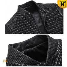 mens italian leather blazer