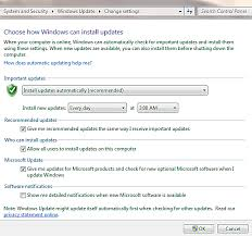 How To Update Windows 7 Understanding Windows 7 Automatic Updates And Update Options