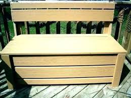 diy deck bench storage seat outdoor build
