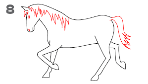 horses drawings easy. Beautiful Horses There  For Horses Drawings Easy